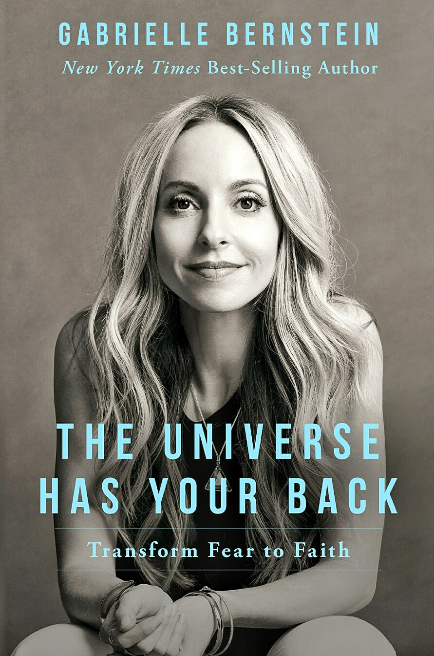 """the universe has your back"""
