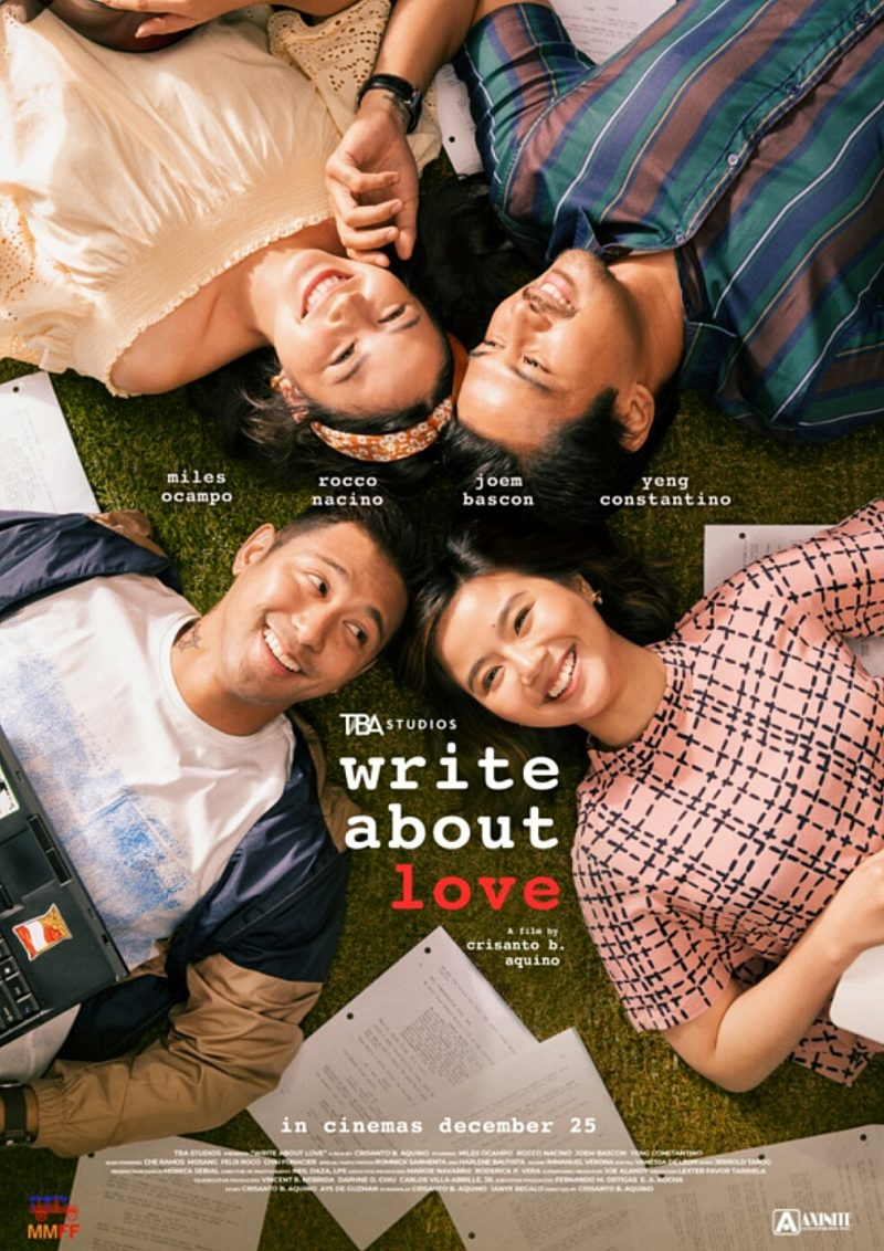 Write About Love: Anatomy of A Script